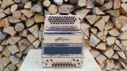 """Steirische Harmonika Alpen Compact """"Vogelaugenahorn"""" B es as des"""