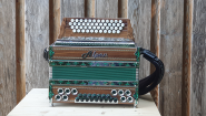 "Steirische Harmonika Alpen Classic ""Nuss-Grün"" B es as des"