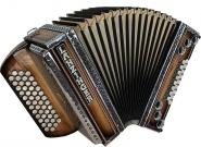 Lanzinger Harmonika 34 Classic Olive Natur G C F B