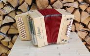 """Alpen Harmonika Modell """"Mini"""" Ahorn G C F"""