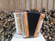 """WoidBua Harmonika """"Satin Nuss"""" G C F B"""