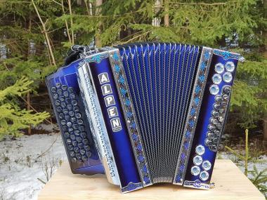 "Steirische Harmonika Alpen Compact ""Kirsche"" G C F B"
