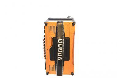 Bassbodenleder für Steirische Harmonika Variante 1, schwarz
