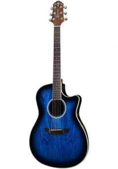 Crafter Gitarre Wood Bowl WB-400 MS inkl. Case