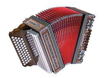 "Showharmonika Modell ""Edelholz"""