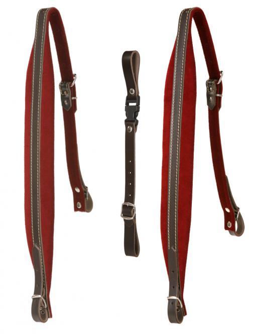 Alpenklang Harmonikariemen 4-reihige (Rot)