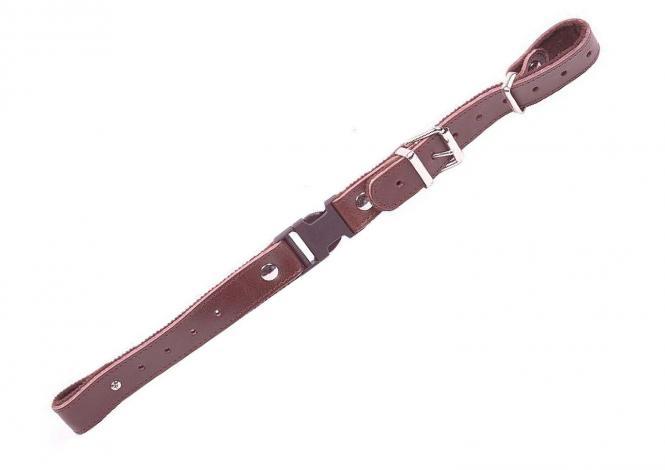 Alpenklang Querriemen für Akkordeon/Harmonika - braun