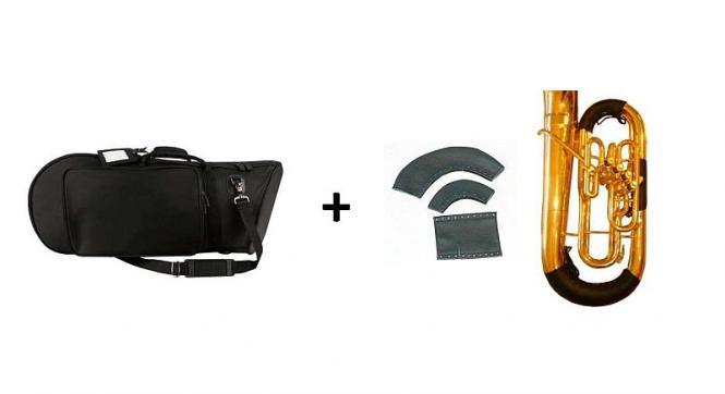 Tasche für Bellfront Bariton + Handschutzset