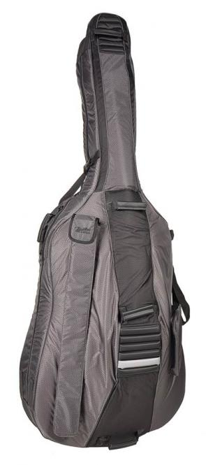 Boston Deluxe Hightech leichte Kontrabass Tasche 3/4 Ripstop-Nylon