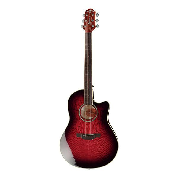 Crafter Gitarre Wood Bowl WB-400 RS inkl. Case