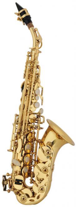 Leon Sopransaxophon in B, gebogene Bauart